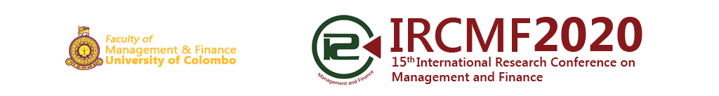 IRCMF 2020 | International Research Conference on Management and Finance