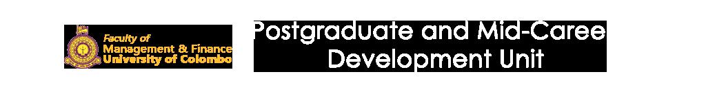 MBA in HRM | Postgraduate & Mid-career Development Unit