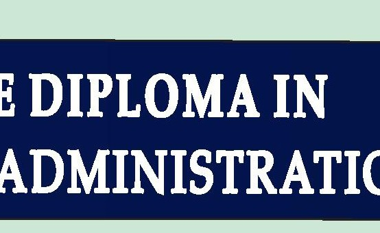 Executive Diploma in Business Administration