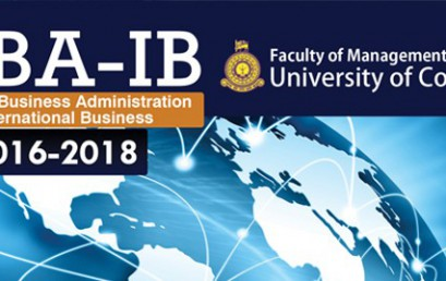 Master in Business Administration in international Business (2016-2018)