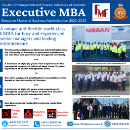 Executive Master of Business Administration (EMBA) 2021-2023