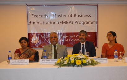 Inauguration of the Executive MBA Programme 2016/2018