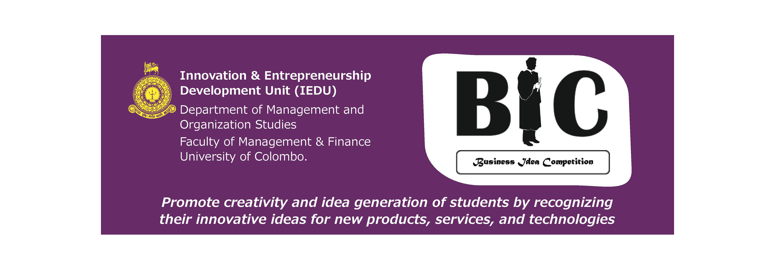 Business Idea Competition (BIC 2016)   Faculty of Management