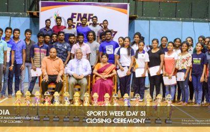 FMF Sports Week 2017