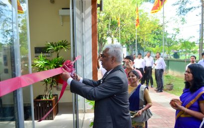 The Opening Ceremony of the East Wing Building of Faculty of Management & Finance held on 10th May 2018.