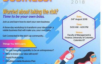 ImagineIF Entrepreneurship Boost Camp 2018