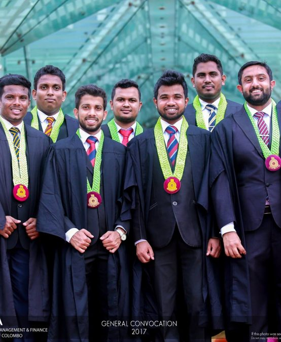 General Convocation 2017 – University of Colombo.