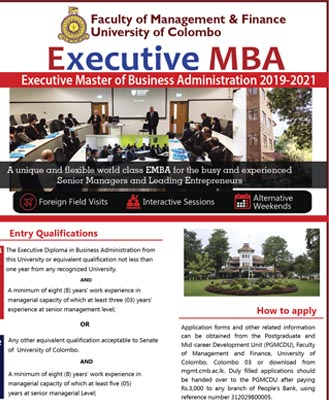 Executive Master of Business Administration (EMBA) 2019-2021