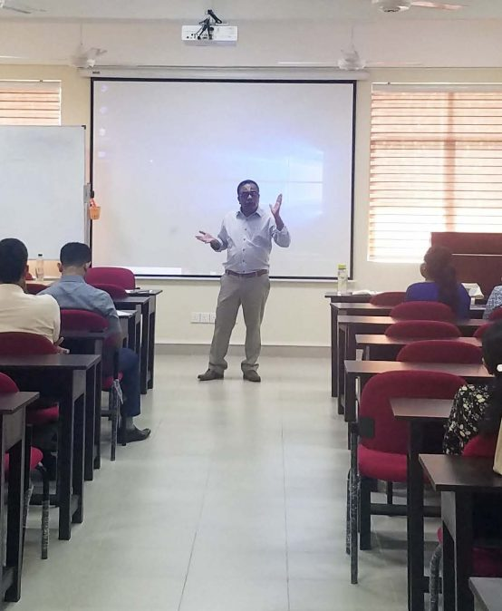 Associate Prof. Mohan Thite, Griffith Business School, Griffith University, Australia visited the Faculty