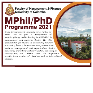 MPhil / Phd Programe